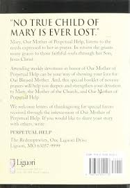 thanksgiving prayer to mother mary devotions in honor of our mother of perpetual help catholic