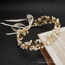 hair ornaments online shop gorgeous handmade headband women pearl jewelry