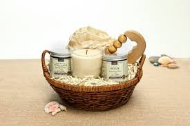 spa gift baskets organic spa gift basket karma ecochicgiftbaskets