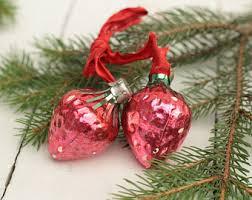 soviet christmas toy eggppant christmas tree glass christmas