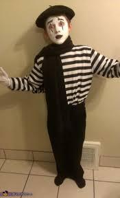 Mime Halloween Costumes Mime Child U0027s Costume