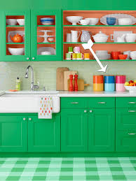 how to paint color blocked canisters hgtv