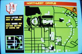 Iu Campus Map Portfolio Index 1981 1989 Ux Portfolio Videotex Graphics