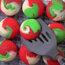 christmas swirled cheesecake cookies yellow bliss road