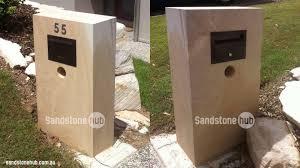 sandstone letterboxes mailboxes sandstonehub com au