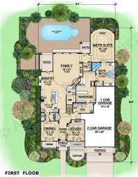 House Plans Mediterranean West Lake House Plan Home Plans By Archival Designs