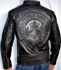 mens leather biker jacket affliction black premium lemmy men u0027s leather biker jacket