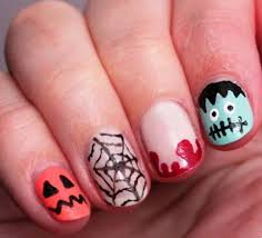 29 easy halloween designs for nails nails in pics