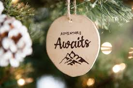 outdoor adventure themed christmas tree