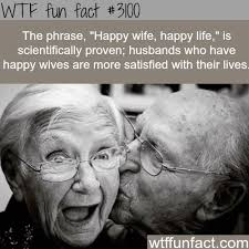 Happy Life Meme - happy wife happy life wtf fun facts wtf fun facts husband