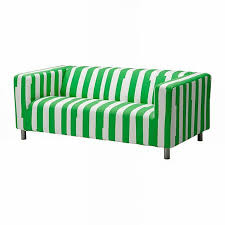 Green Sofa Slipcover by Decor Green And White Klippan Sofa Cover For Modern Furniture