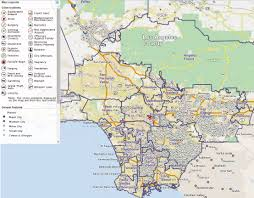 Los Angeles County Map Los Angeles County Sheriff Crime Analysis Image Gallery Hcpr
