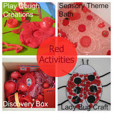 learning colours u2013 red color activities red color and activities