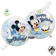mickey mouse 1st birthday 22 inch mickey mouse 1st birthday 1ct