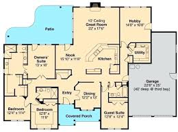 4 bedroom ranch style house plans ranch style floor plan one level ranch style house plans single