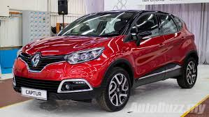 renault captur price renault captur ckd now on sale in malaysia same spec cheaper at