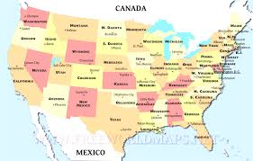 map usa states capitals midwest united states of america wikitravel map us throughout maps