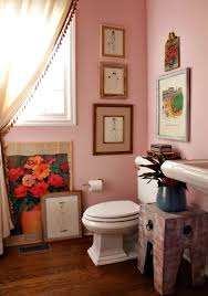 pink and red powder bathroom wall color charming pink sherwin