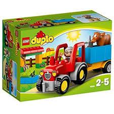 lego 10524 duplo ville farm tractor playset co uk toys