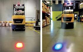 blue warning lights on forklifts xrll led blue forklift safety lights industrial led warning piont