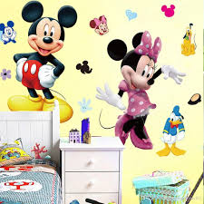 mickey mouse minnie vinyl mural wall sticker decals kids nursery mickey mouse minnie vinyl mural wall sticker decals kids nursery room decor vinyl wall lettering vinyl wall murals from gonglangdianzi01 9 7 dhgate com