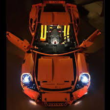 porsche instructions led lighting kit for 42056 porsche 911 gt3 rs includes