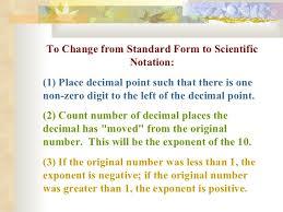 scientific notation powerpoint