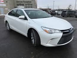 toyota white car new 2017 toyota camry hybrid xle standard package bd1fxp bc 4
