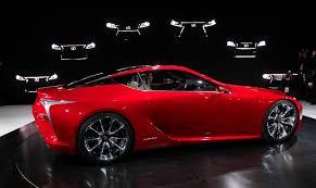 lexus lf lc concept car price detroit mi lexus unveils lf lc hybrid a concept sport coupe