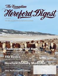 k che 24 herford 2011 performance edition of the canadian hereford digest by
