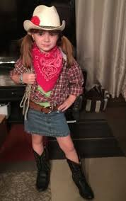 Halloween Cowgirl Costumes 7 Creates Cowgirl Costume Kids Craft