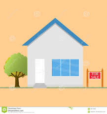 colorful house concept for sale house flat icon design stock
