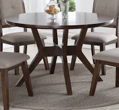 espresso dining room set espresso 5 piece round dining set barney collection rc willey