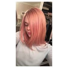 rose gold hair color 15 celebs who tried the rose gold hair trend allure