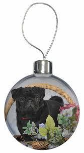 black pug bauble decoration co uk kitchen
