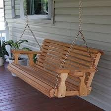 Most Comfortable Porch Swing Patio Porch Swings Foter