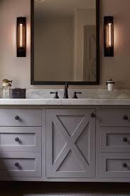 Rustic Bathroom Lighting - bathroom modern rustic bathroom white rustic sink cabinet