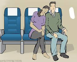 Comfortable Positions To Sleep In The 10 Best Positions For Sleeping On A Plane Daily Mail Online
