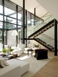 house pictures ideas living room high ceiling modern house design of drywall and