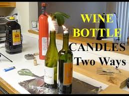how to make a wine bottle l how to make wine bottle oil candles best candle 2018