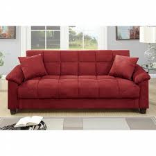 Sofa Couch Online Px Contemporary Red Microfiber Storage Futon Sofa Bed Shop Your
