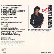 Michael Jackson Bad Album Michael Jackson Am Bad Celebrity Big Brother 2014