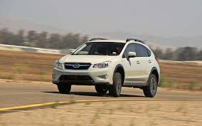crosstrek subaru lifted 2013 subaru xv crosstrek 2 0i premium first test motor trend