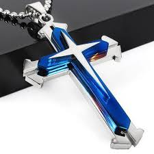 man cross necklace images Futuristic cross necklace deal man jpeg