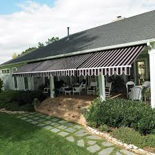 20 Ft Retractable Awning Sunstopper Sun Haven 20 X 13 Ft Motorized Retractable Awning