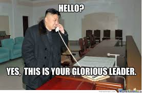 Meme Telephone - our most fabulous leader on the telephone by mrwalrus meme center
