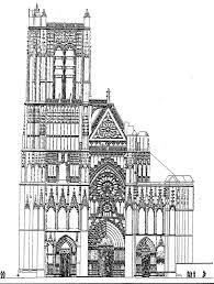 Gothic Church Floor Plan by 3 3 1 2 2 The Latin Cross Type Quadralectic Architecture