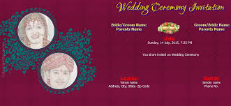 wedding invitations online india wedding invitation online india free yaseen for