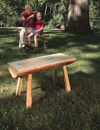 Rustic Outdoor Bench by Rustic Garden Bench Popular Woodworking Magazine