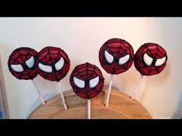spiderman oreo cookie pops the way the cookie crumbles